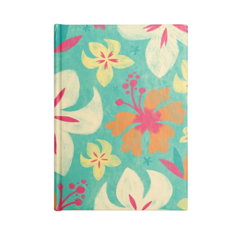 Tropicana Floral Accessories Notebook by Waynem
