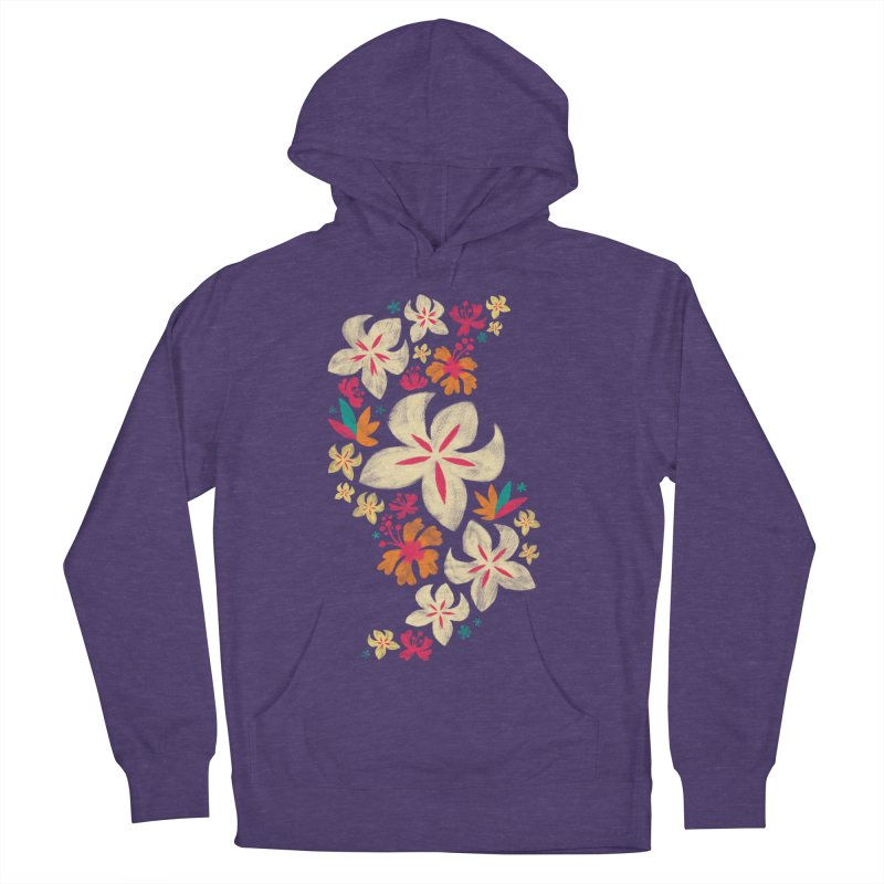 Tropicana Floral Women's Pullover Hoody by Waynem