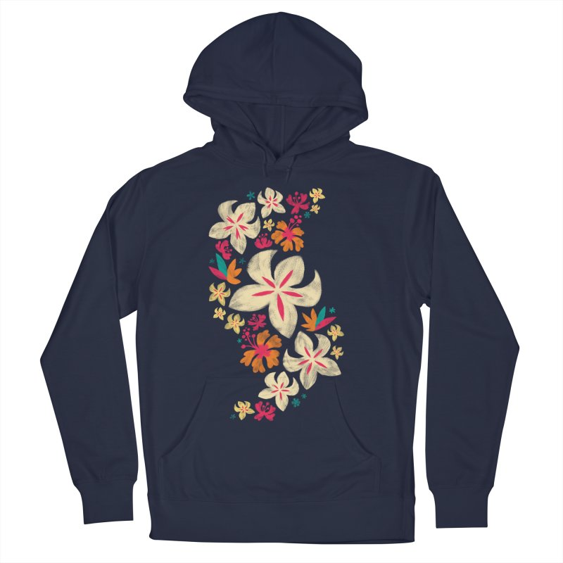 Tropicana Floral Women's Pullover Hoody by Waynem