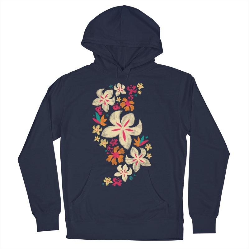 Tropicana Floral Men's Pullover Hoody by Waynem