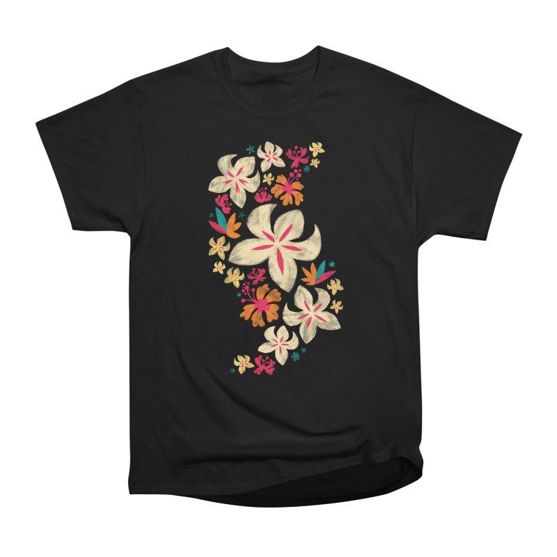 Tropicana Floral Women's Classic Unisex T-Shirt by Waynem