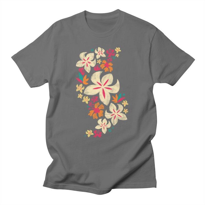 Tropicana Floral Men's T-shirt by Waynem