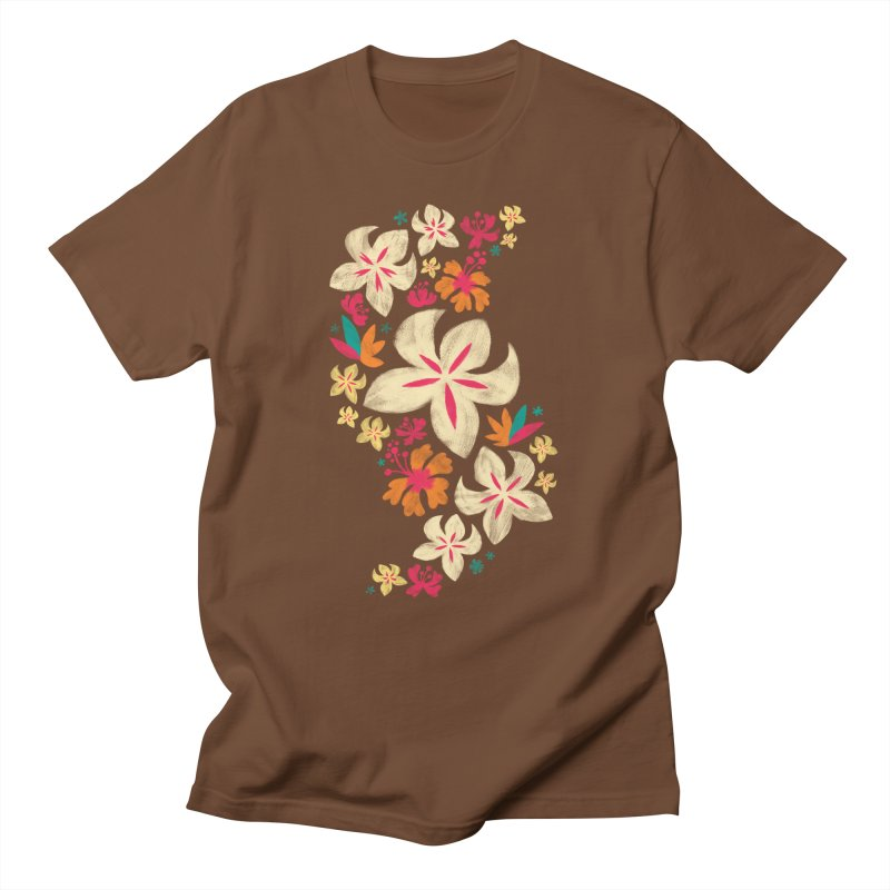 Tropicana Floral Women's Unisex T-Shirt by Waynem