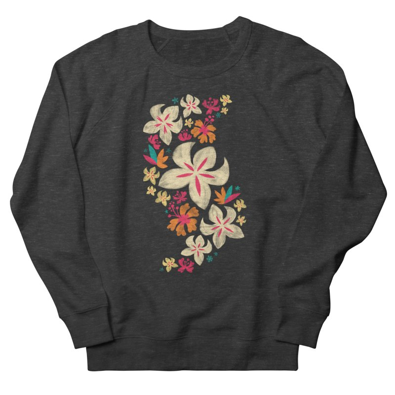 Tropicana Floral Women's Sweatshirt by Waynem