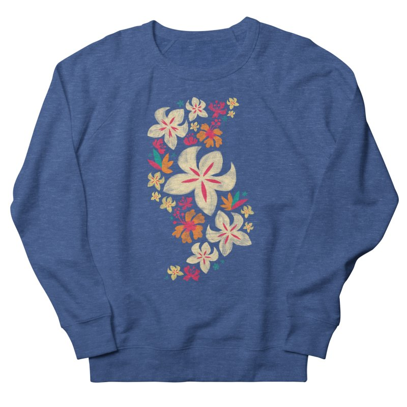 Tropicana Floral Men's Sweatshirt by Waynem