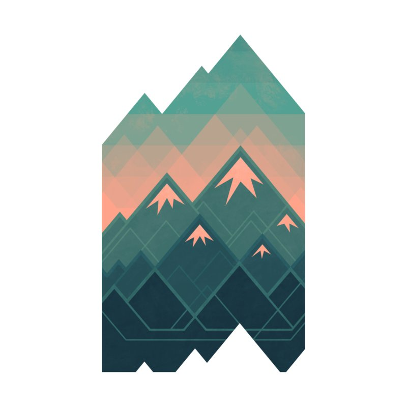 Geometric Mountains by Waynem