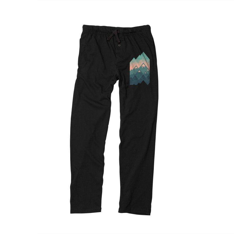 Geometric Mountains Men's Lounge Pants by Waynem