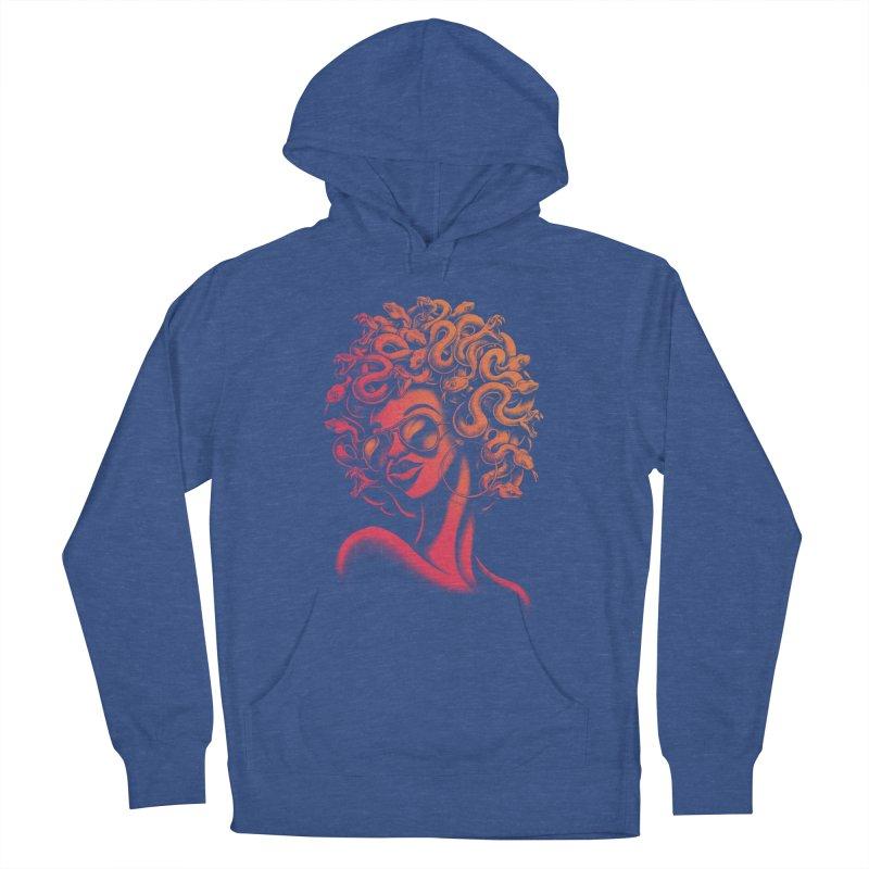 Funky Medusa II Women's Pullover Hoody by Waynem