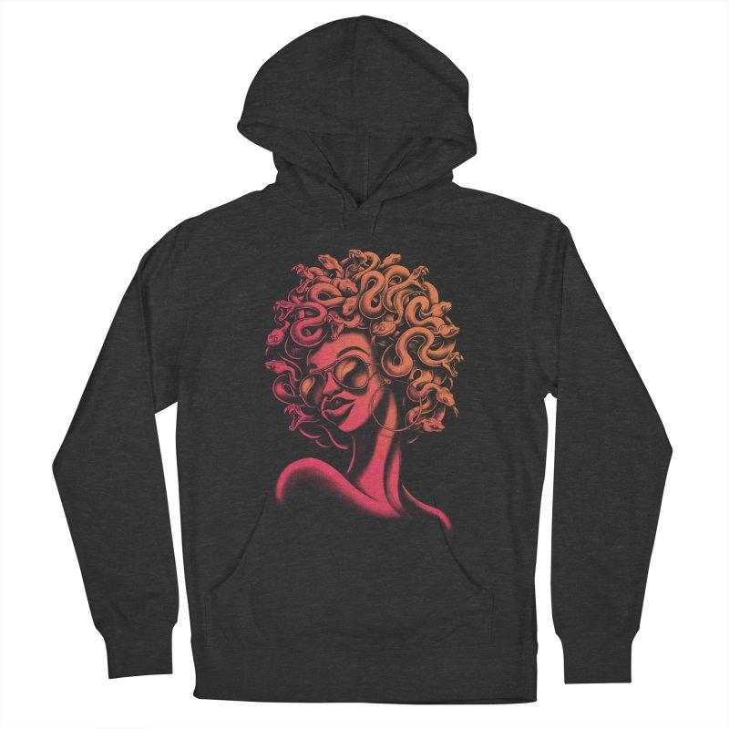 Funky Medusa II Men's Pullover Hoody by Waynem