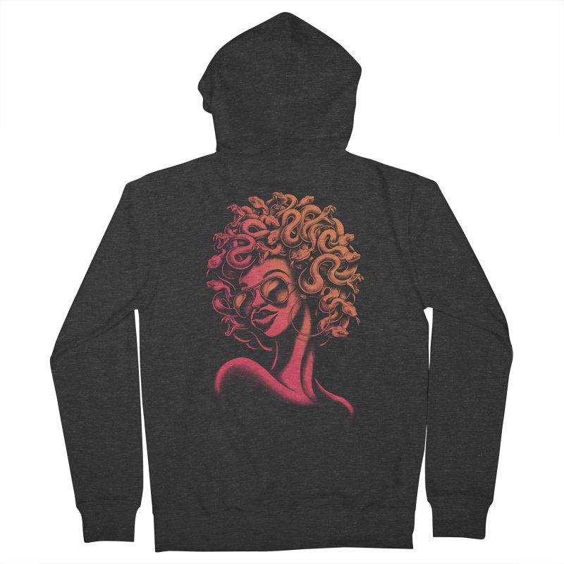 Funky Medusa II Women's Zip-Up Hoody by Waynem
