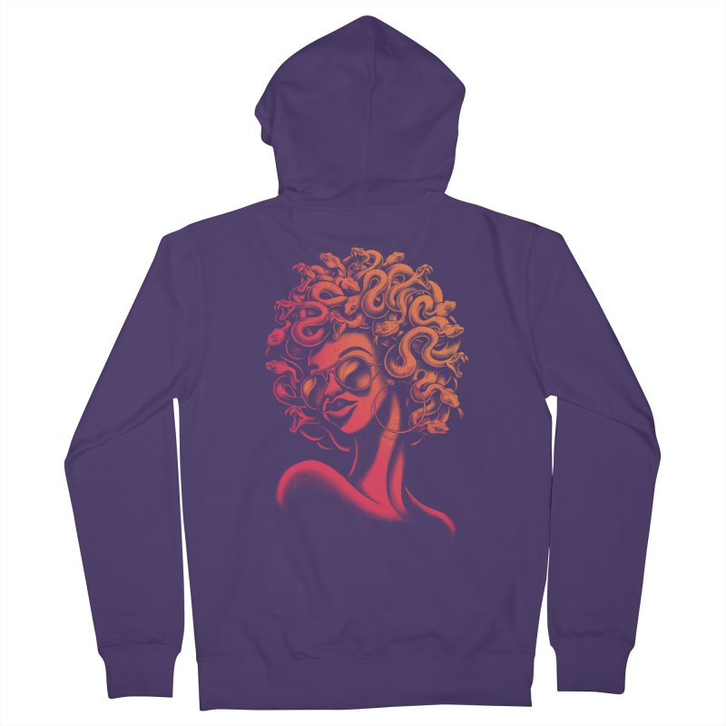 Funky Medusa II Women's Zip-Up Hoody by Waynem
