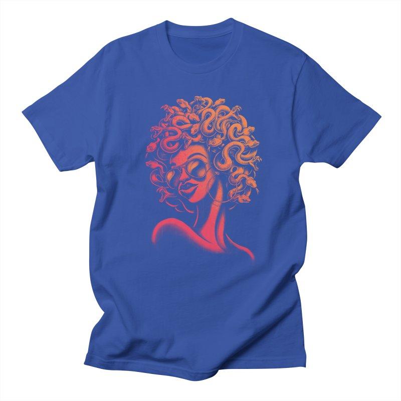 Funky Medusa II Men's T-shirt by Waynem