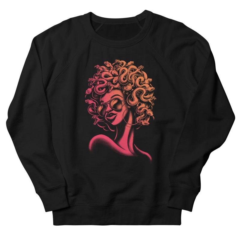 Funky Medusa II Women's Sweatshirt by Waynem