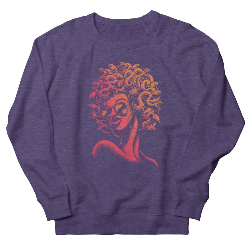 Funky Medusa II Men's Sweatshirt by Waynem