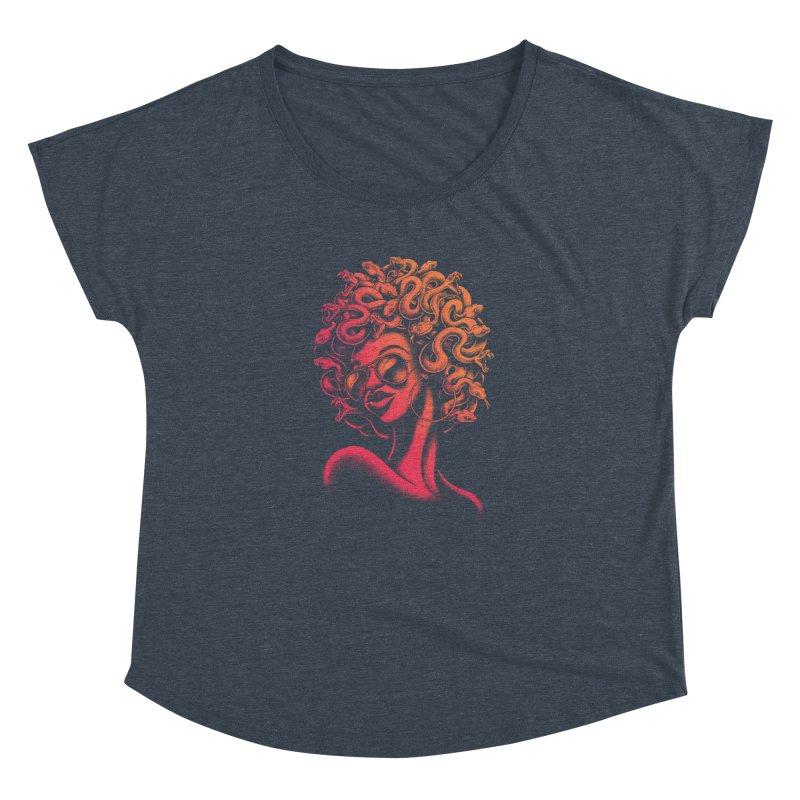 Funky Medusa II Women's Dolman by Waynem