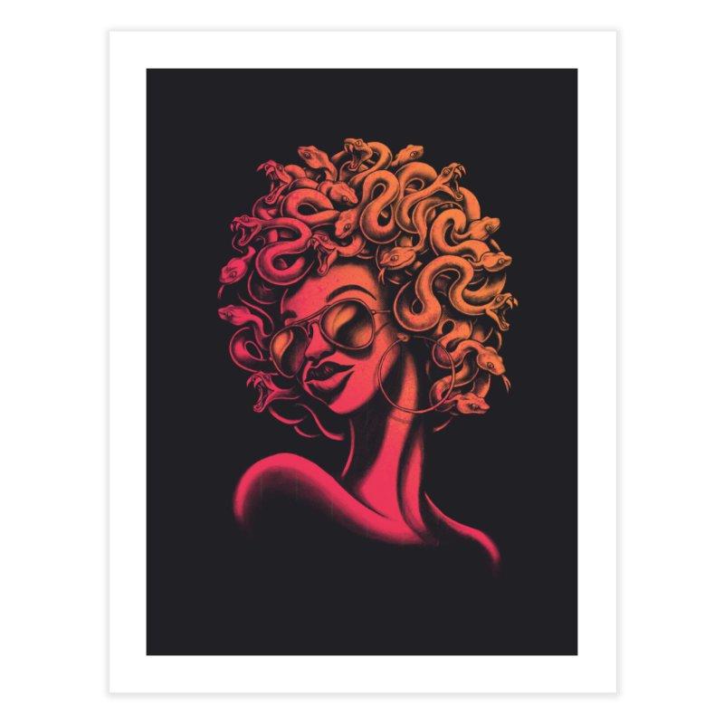 Funky Medusa II Home Fine Art Print by Waynem
