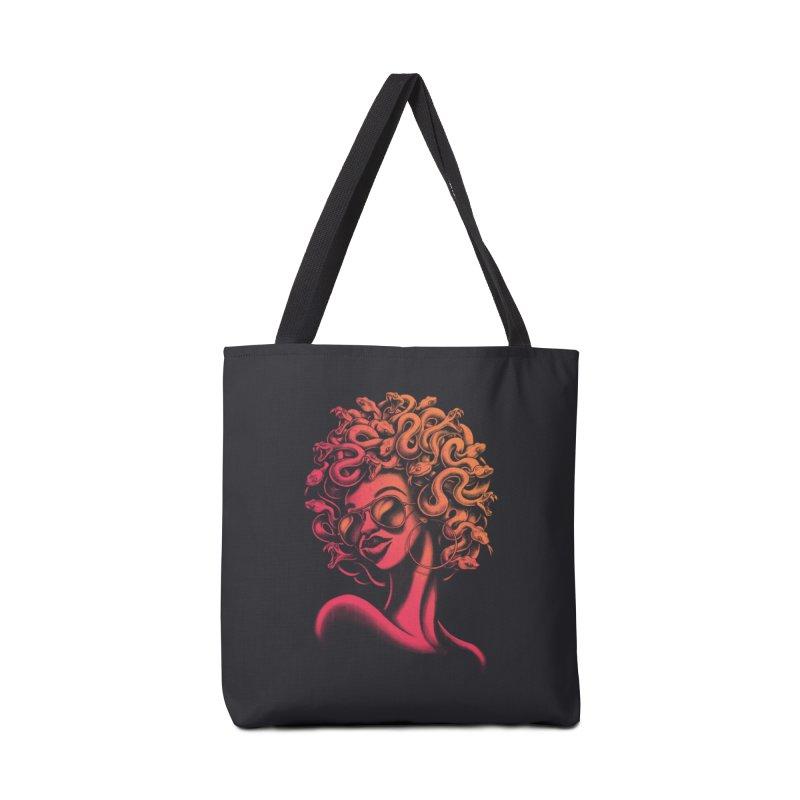 Funky Medusa II Accessories Bag by Waynem