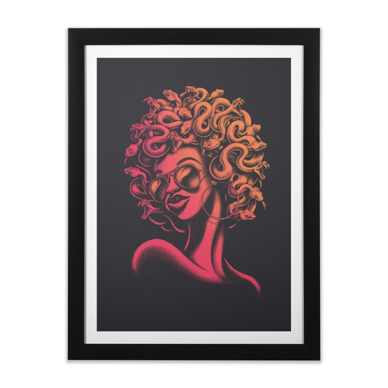 Funky Medusa II Home Framed Fine Art Print by Waynem