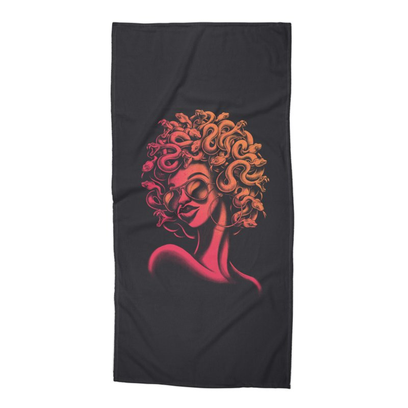 Funky Medusa II Accessories Beach Towel by Waynem
