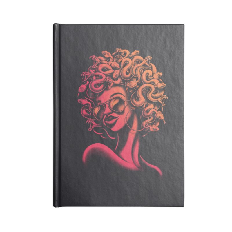 Funky Medusa II Accessories Notebook by Waynem