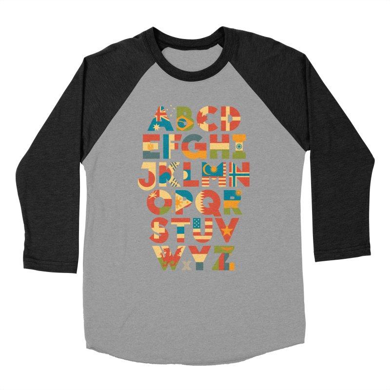 Alflaget Men's Baseball Triblend T-Shirt by Waynem