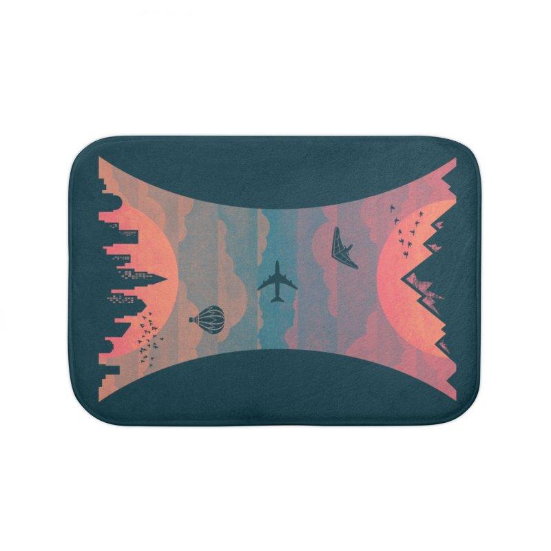 Sunrise / Sunset Home Bath Mat by Waynem