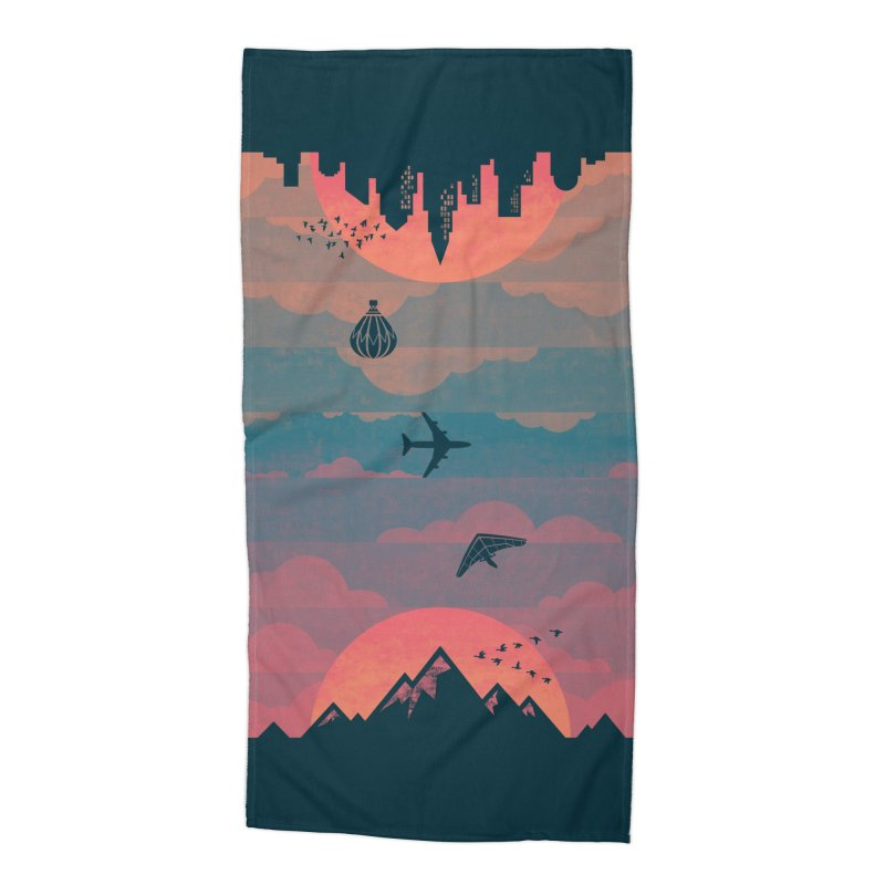 Sunrise / Sunset Accessories Beach Towel by Waynem