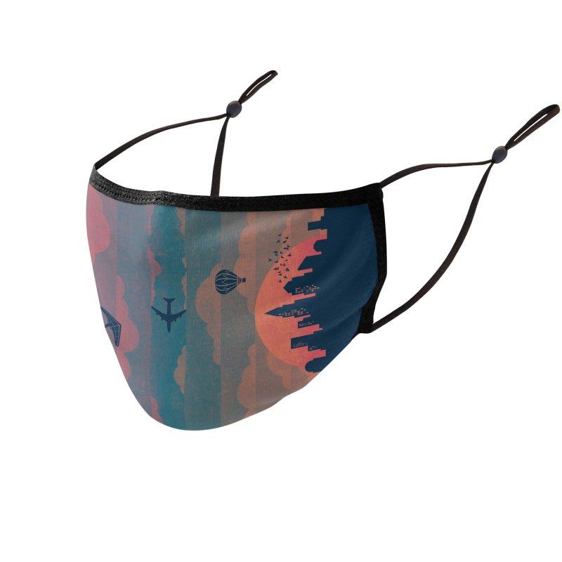 Sunrise / Sunset Accessories Face Mask by Waynem