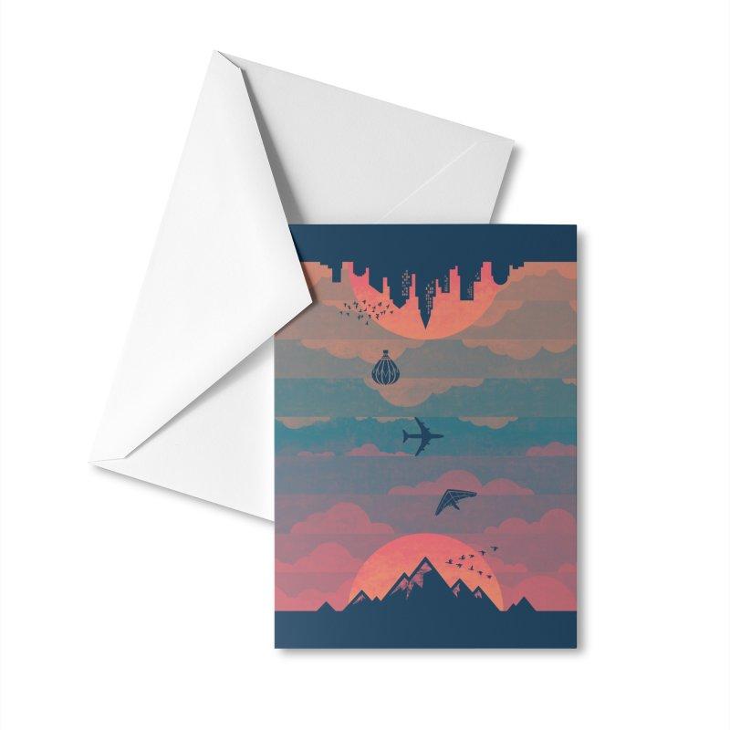 Sunrise / Sunset Accessories Greeting Card by Waynem