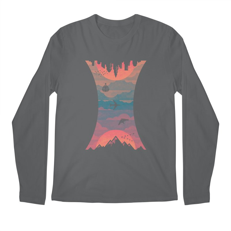 Sunrise / Sunset Men's Longsleeve T-Shirt by Waynem