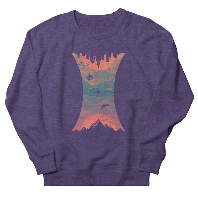 Sunrise / Sunset Men's Sweatshirt by Waynem