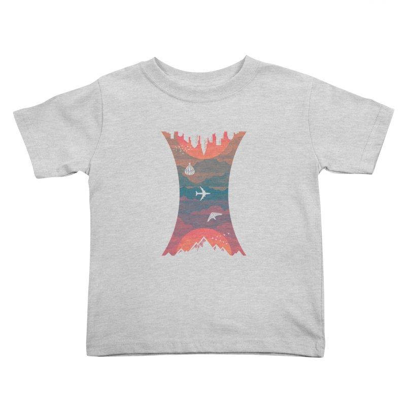 Sunrise / Sunset Kids Toddler T-Shirt by Waynem