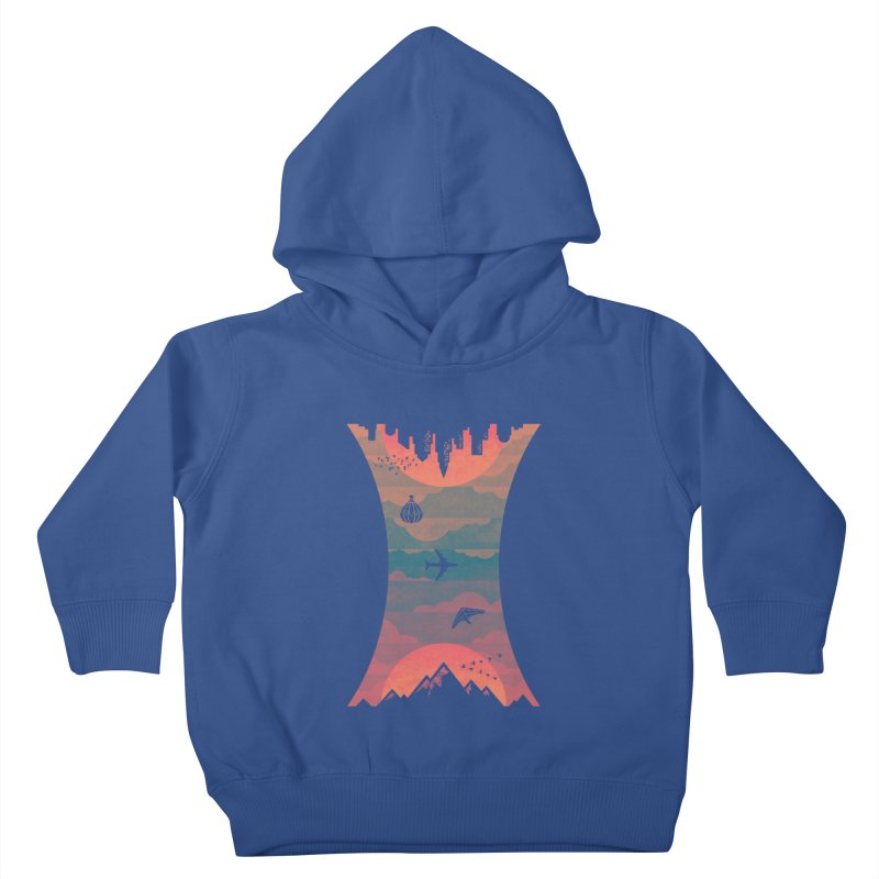Sunrise / Sunset Kids Toddler Pullover Hoody by Waynem