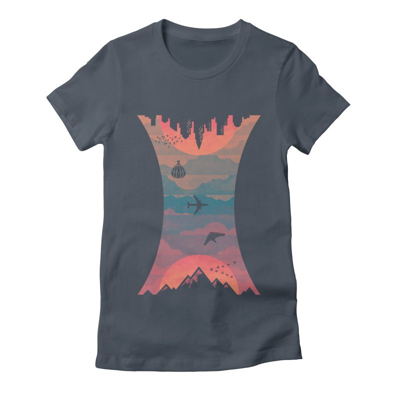Sunrise / Sunset Women's T-Shirt by Waynem