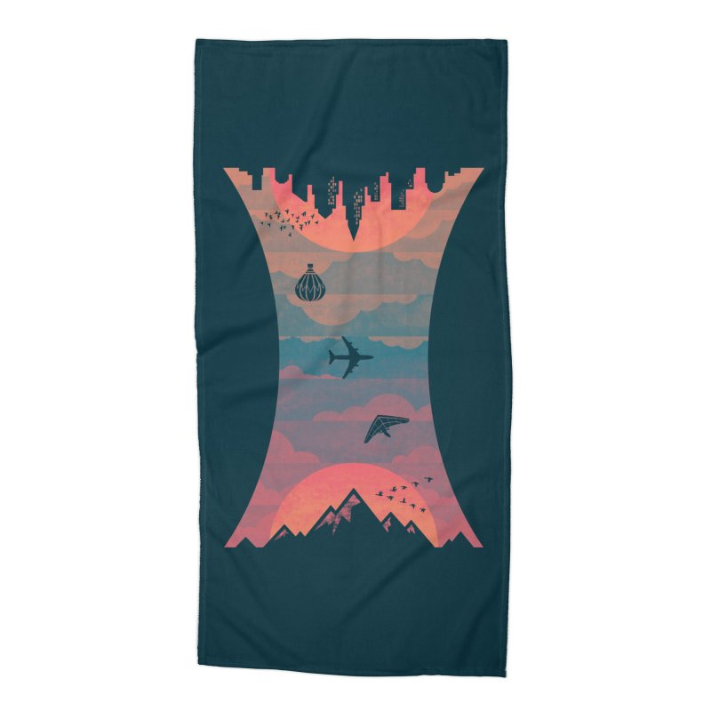 Sunrise / Sunset Accessories Beach Towel by Waynem