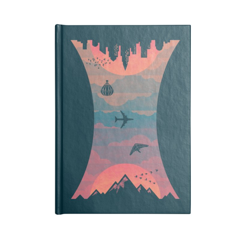 Sunrise / Sunset Accessories Notebook by Waynem