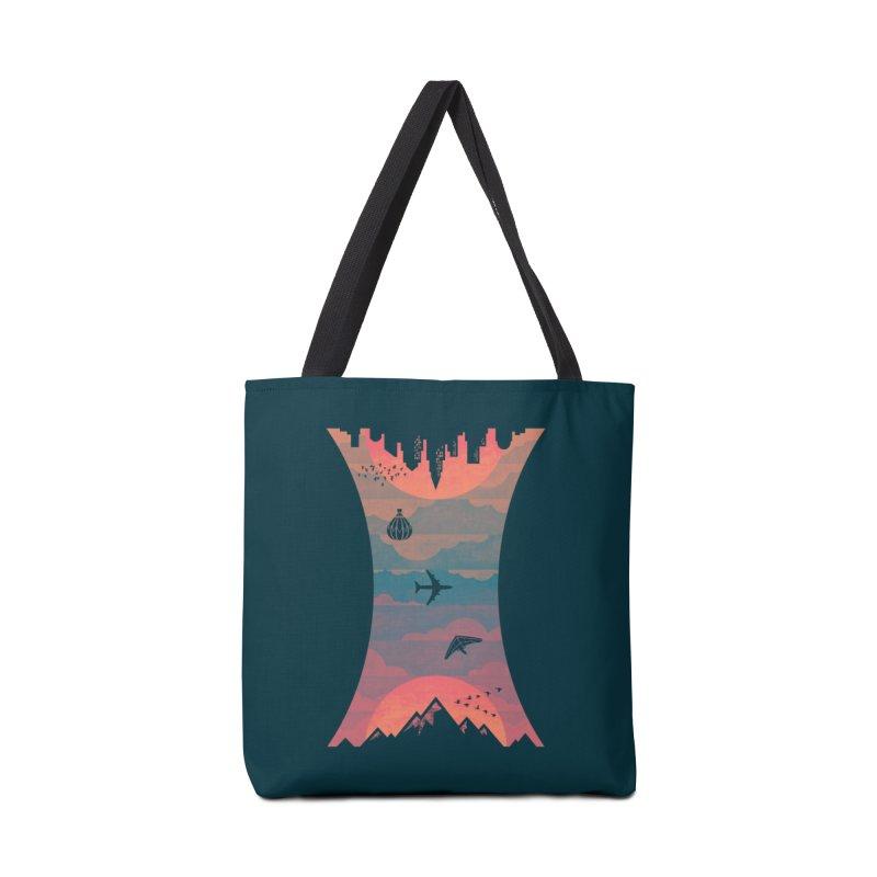 Sunrise / Sunset Accessories Bag by Waynem