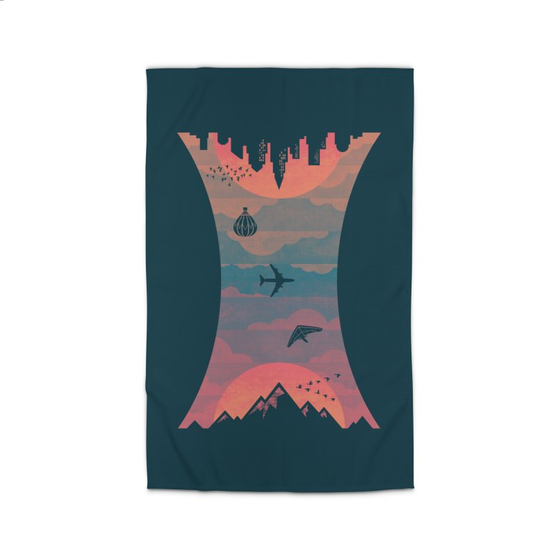 Sunrise / Sunset Home Rug by Waynem