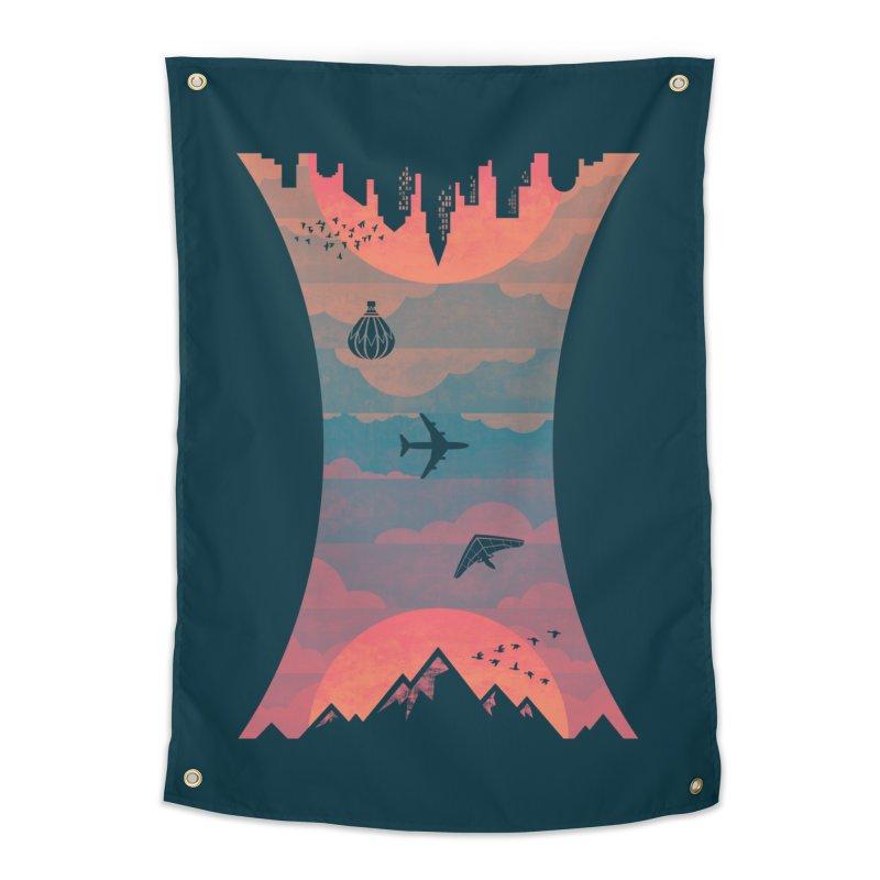 Sunrise / Sunset Home Tapestry by Waynem
