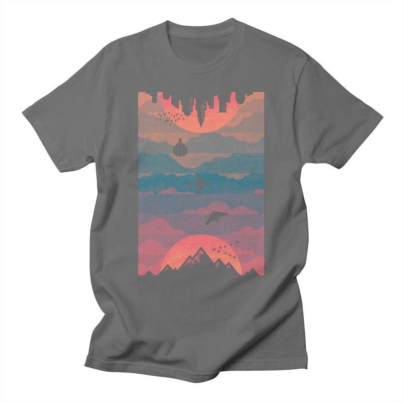 Sunrise / Sunset Men's T-Shirt by Waynem