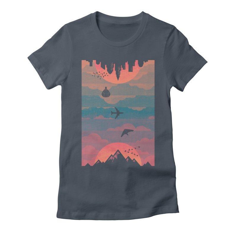 Sunrise / Sunset Women's T-Shirt by Waynem