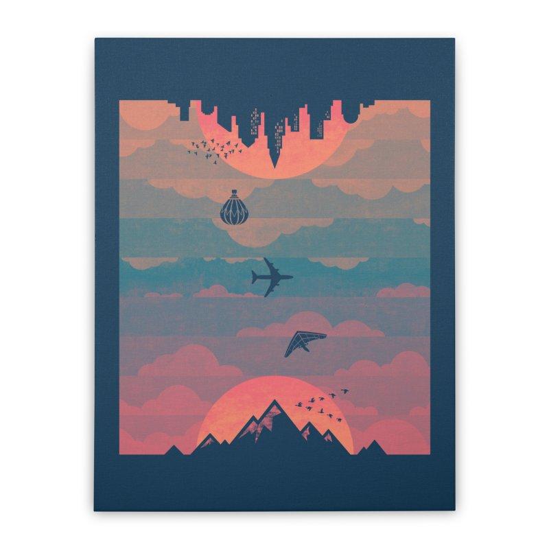 Sunrise / Sunset Home Stretched Canvas by Waynem