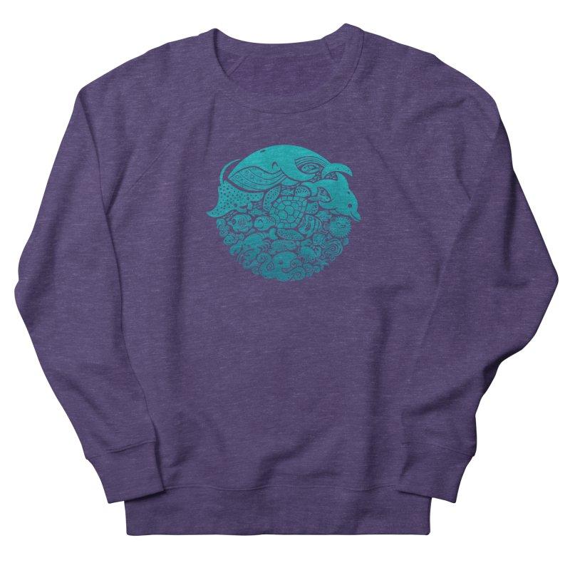 Aquatic Spectrum Women's Sweatshirt by Waynem