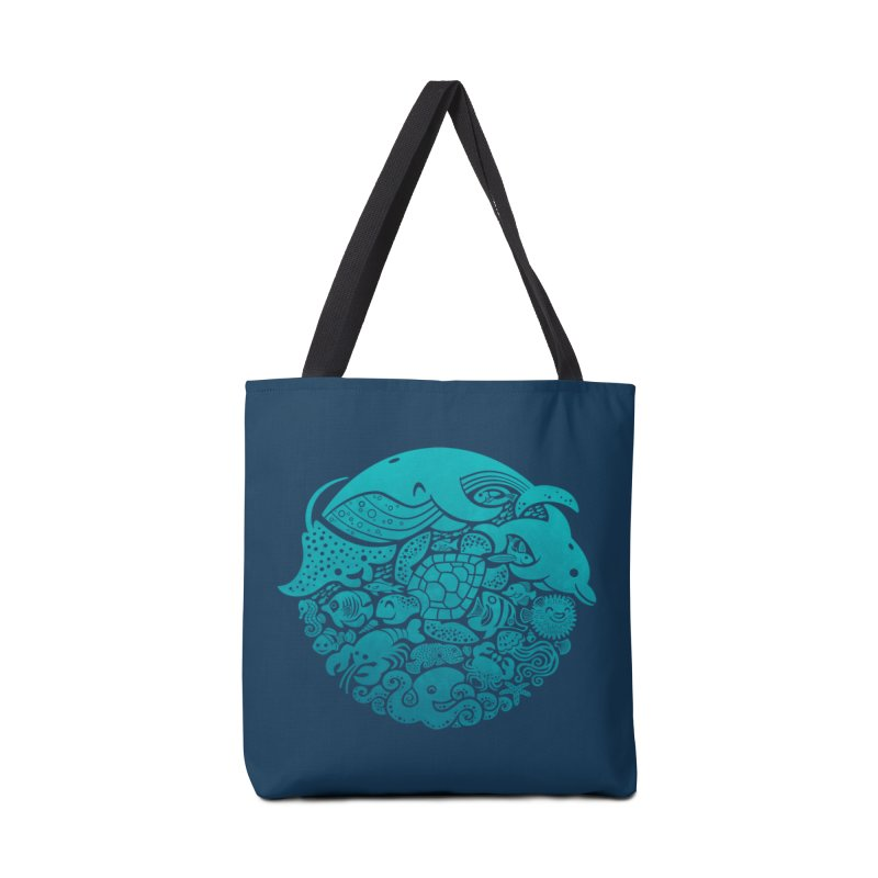 Aquatic Spectrum Accessories Bag by Waynem