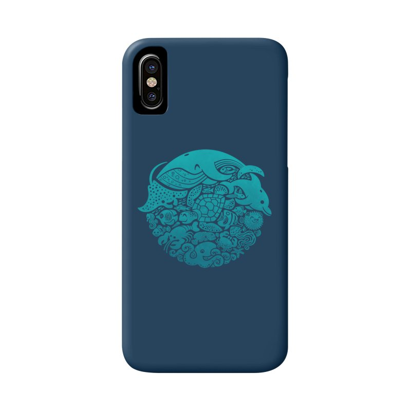Aquatic Spectrum Accessories Phone Case by Waynem