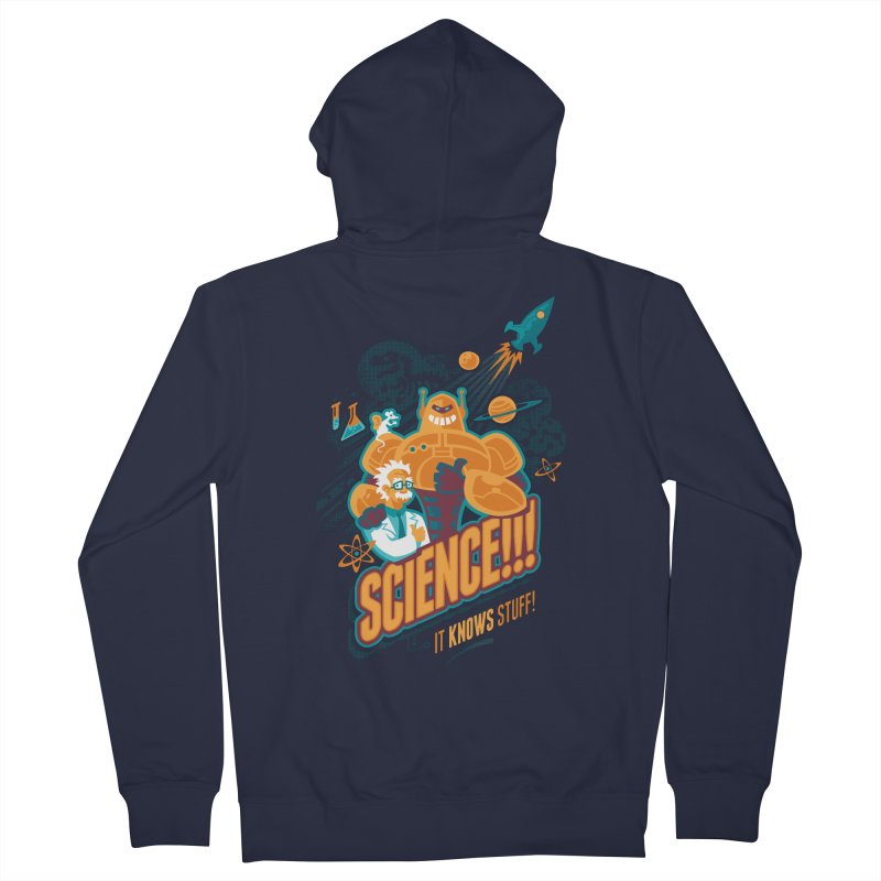 Science!!! It Knows Stuff! Women's Zip-Up Hoody by Waynem