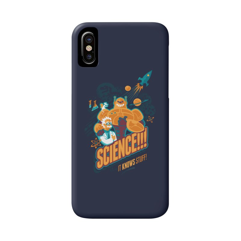 Science!!! It Knows Stuff! Accessories Phone Case by Waynem