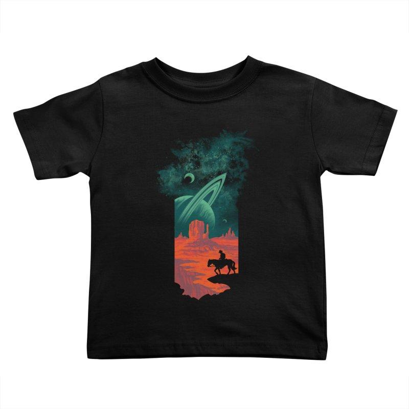 Final Frontiersman Kids Toddler T-Shirt by Waynem