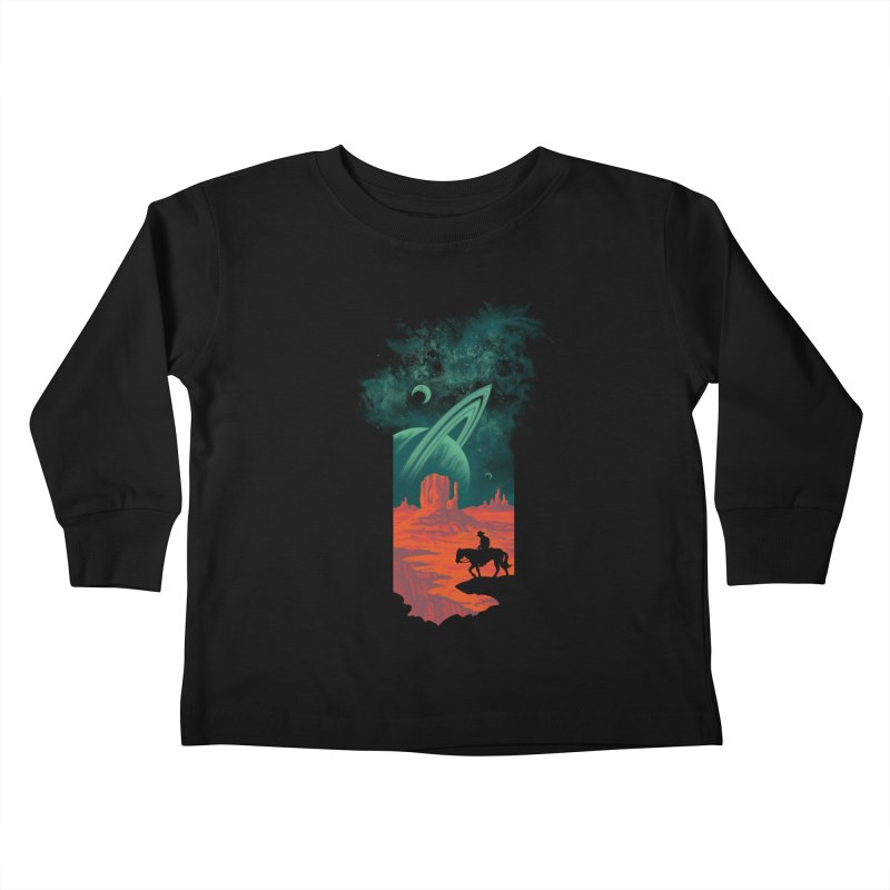 Final Frontiersman Kids Toddler Longsleeve T-Shirt by Waynem