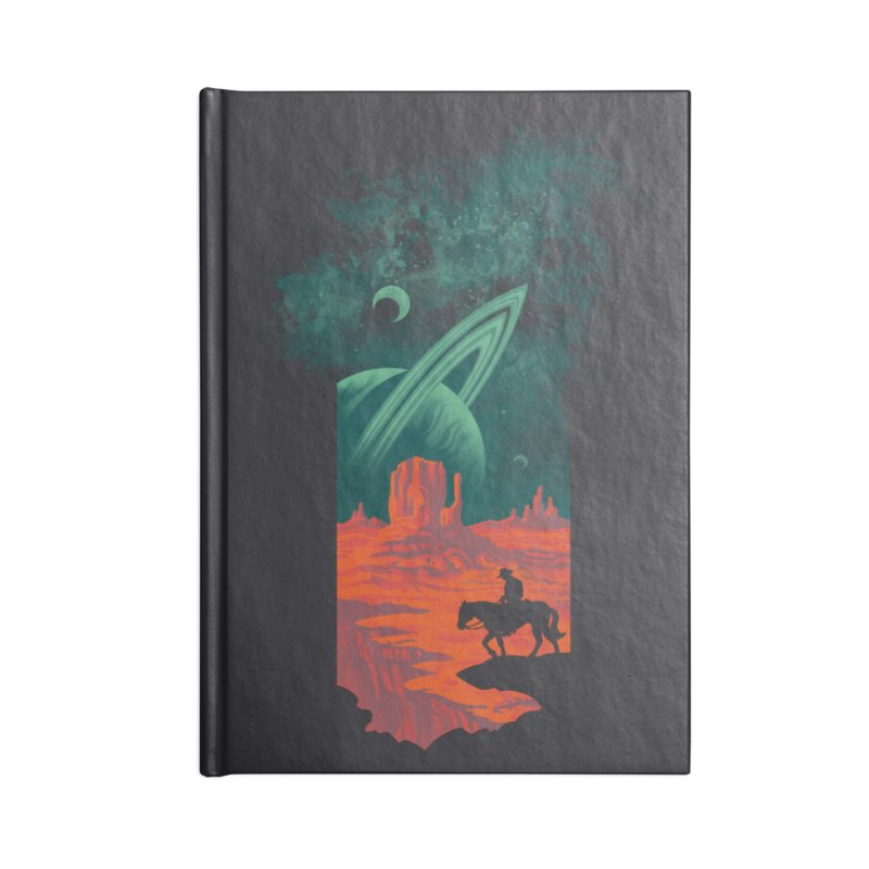 Final Frontiersman Accessories Notebook by Waynem